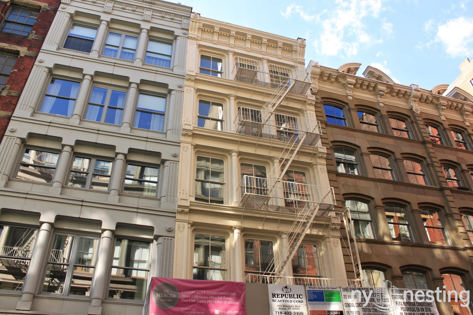 111 Mercer Street In Soho Luxury Apartments In Nyc Ny