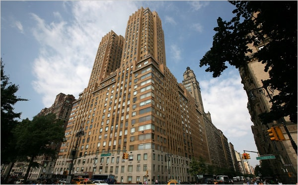 The Majestic At 115 Central Park West In Upper West Side