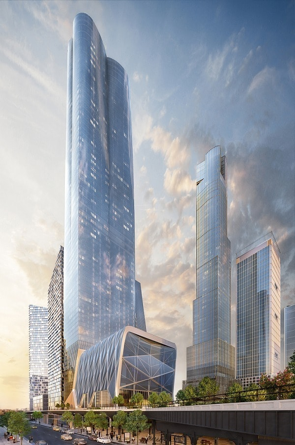 15 hudson yards at 501 west 30th street in chelsea for How far is hudson ny from nyc