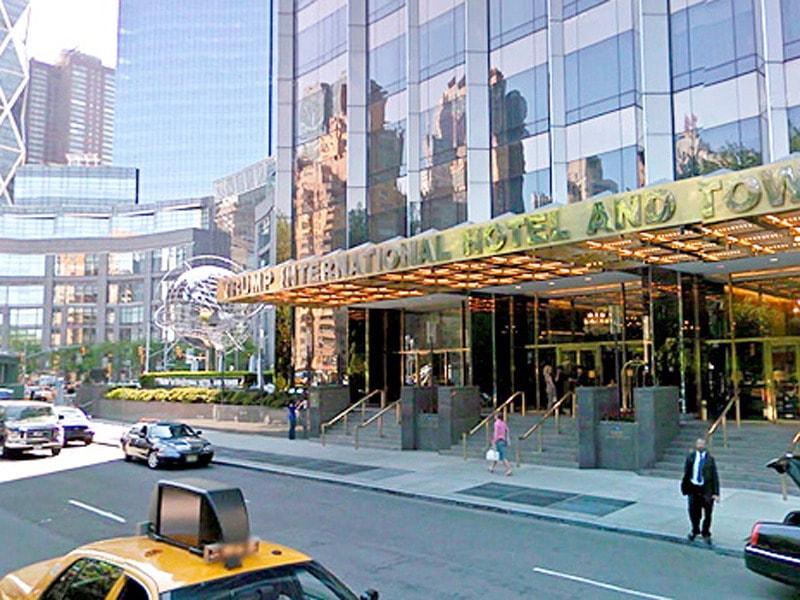 Trump International Hotel Tower  Central Park West