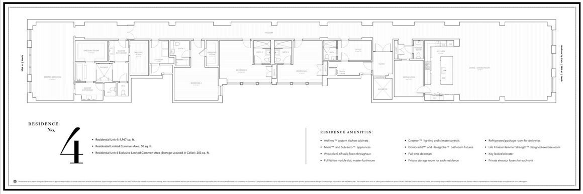 21 East 26th Street In Chelsea Clinton S Nyc Apartment Floor Plan