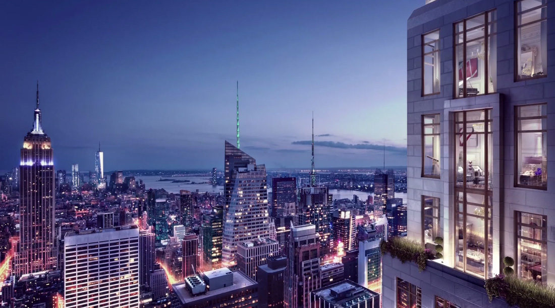 220 central park south to have 175m penthouse for New york city penthouses central park
