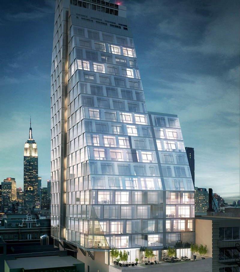 35xv At 35 West 15th Street Design Unveiled Manhattan News