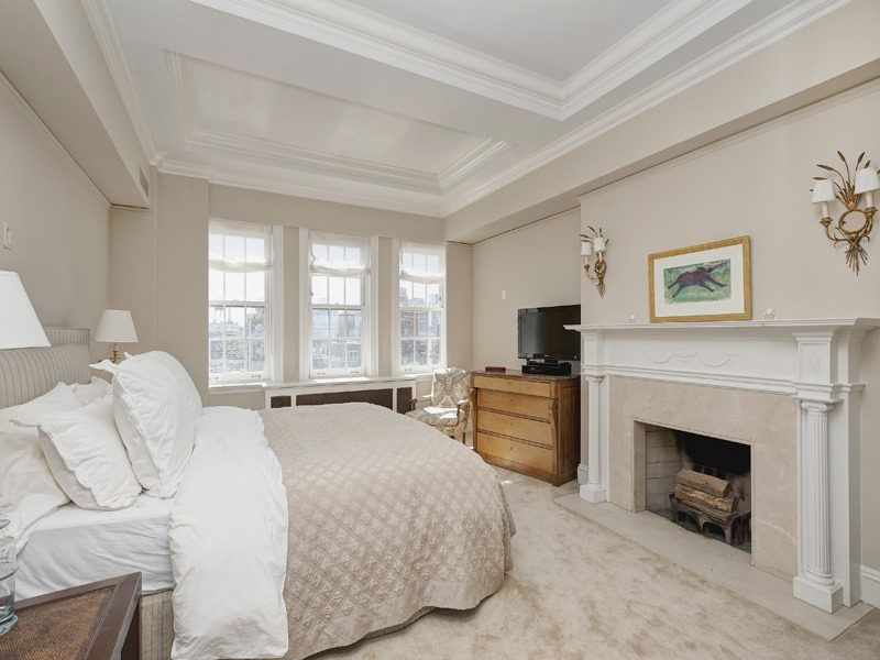 39 fifth ave and nate berkus beautiful bedroom with fireplace
