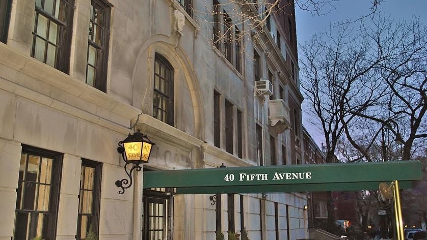 40 Fifth Avenue In Greenwich Village Luxury Apartments