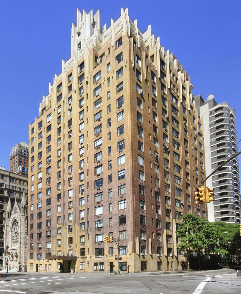 55 Central Park West In Upper West Side