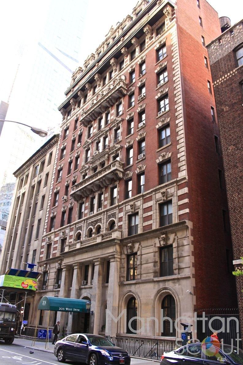 Ablemarle 205 West 54th Street Apartments Manhattan