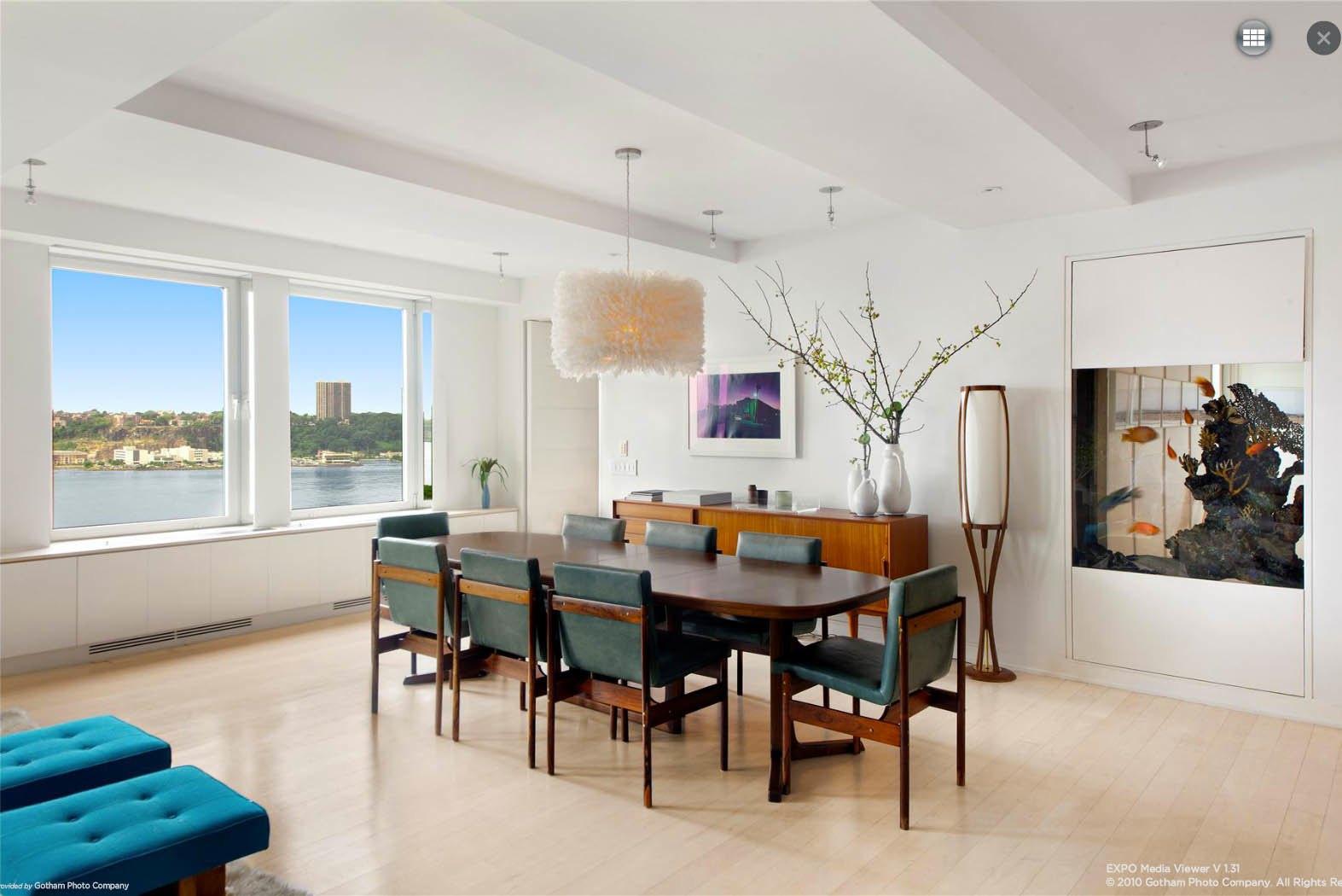 Ben Stiller Apartment At 118 Riverside Drive Dining Room