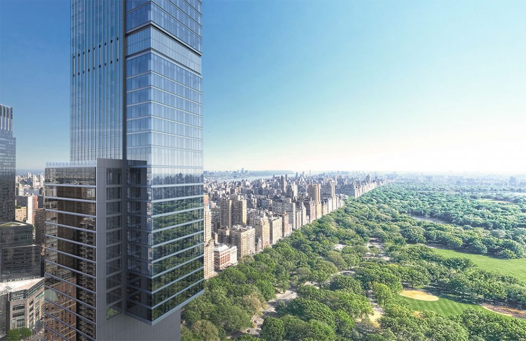 Central Park Tower At 217 West 57th Street In Midtown West