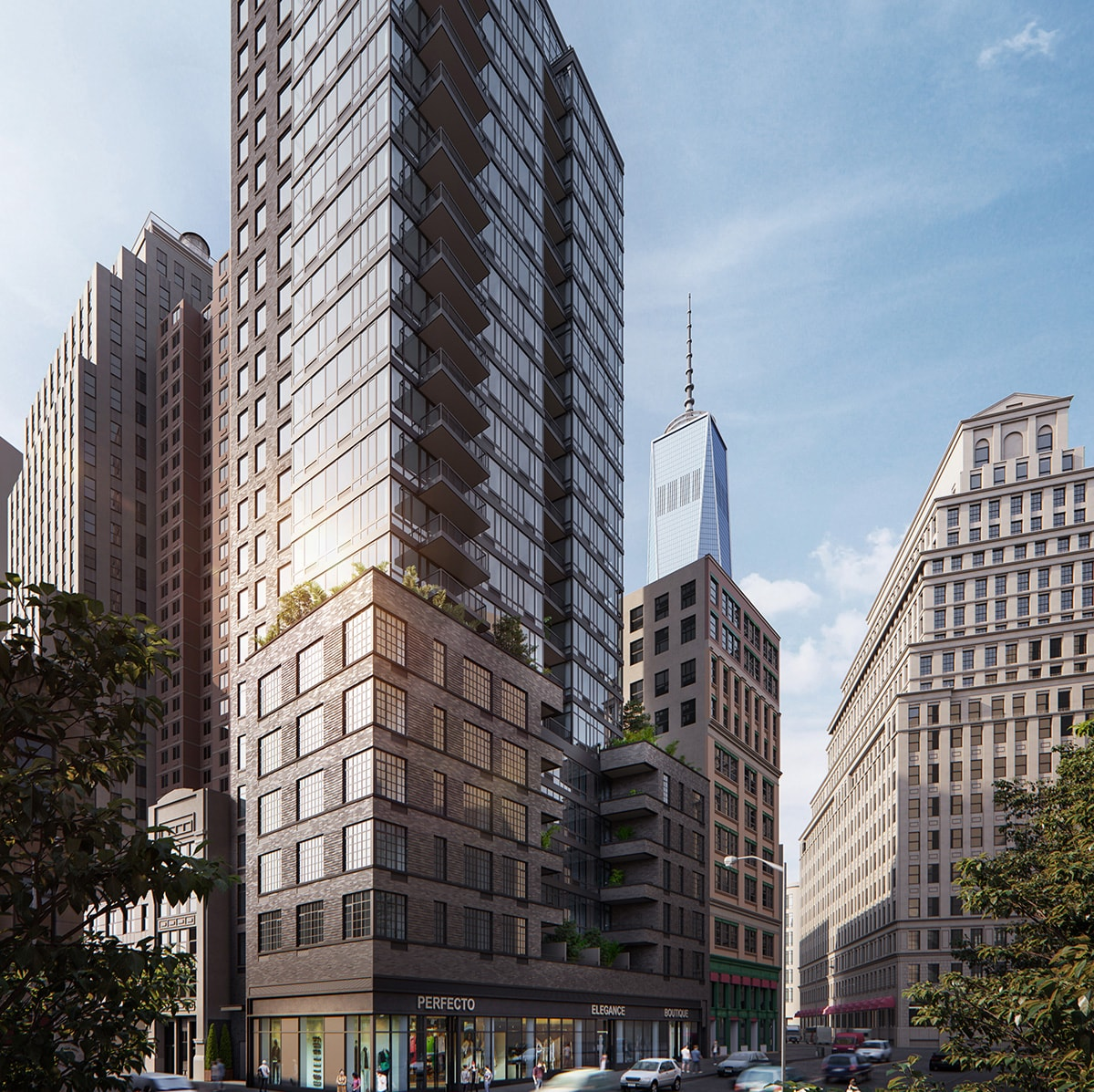 Downtown Nyc Apartments: Exhibit Downtown At 60 Fulton Street In Financial District