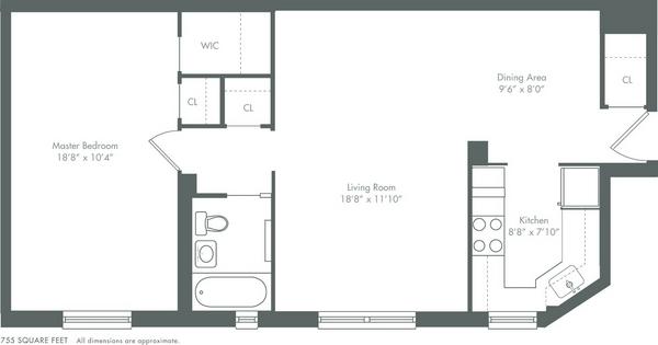 Stuy Town 2 Bedroom Floor Plan: Stuyvesant Town - 330 1st Ave - NYC