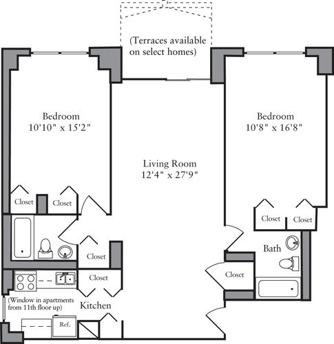 Archstone Apartments: Archstone Camargue At 303 East 83rd Street In Upper East
