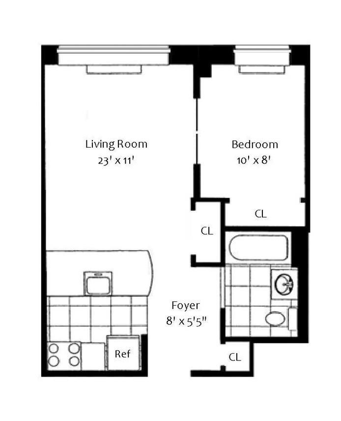 Cheap Apartments Near Orange Ma: 555 West 23rd Street In Chelsea