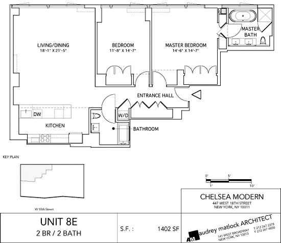 1 Bedroom Apartment Chelsea New York: Chelsea Modern At 447 West 18th Street In Chelsea