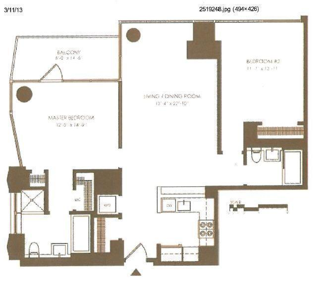 1 Bedroom Apartment Chelsea New York: Chelsea Stratus At 101 West 24th Street In Chelsea