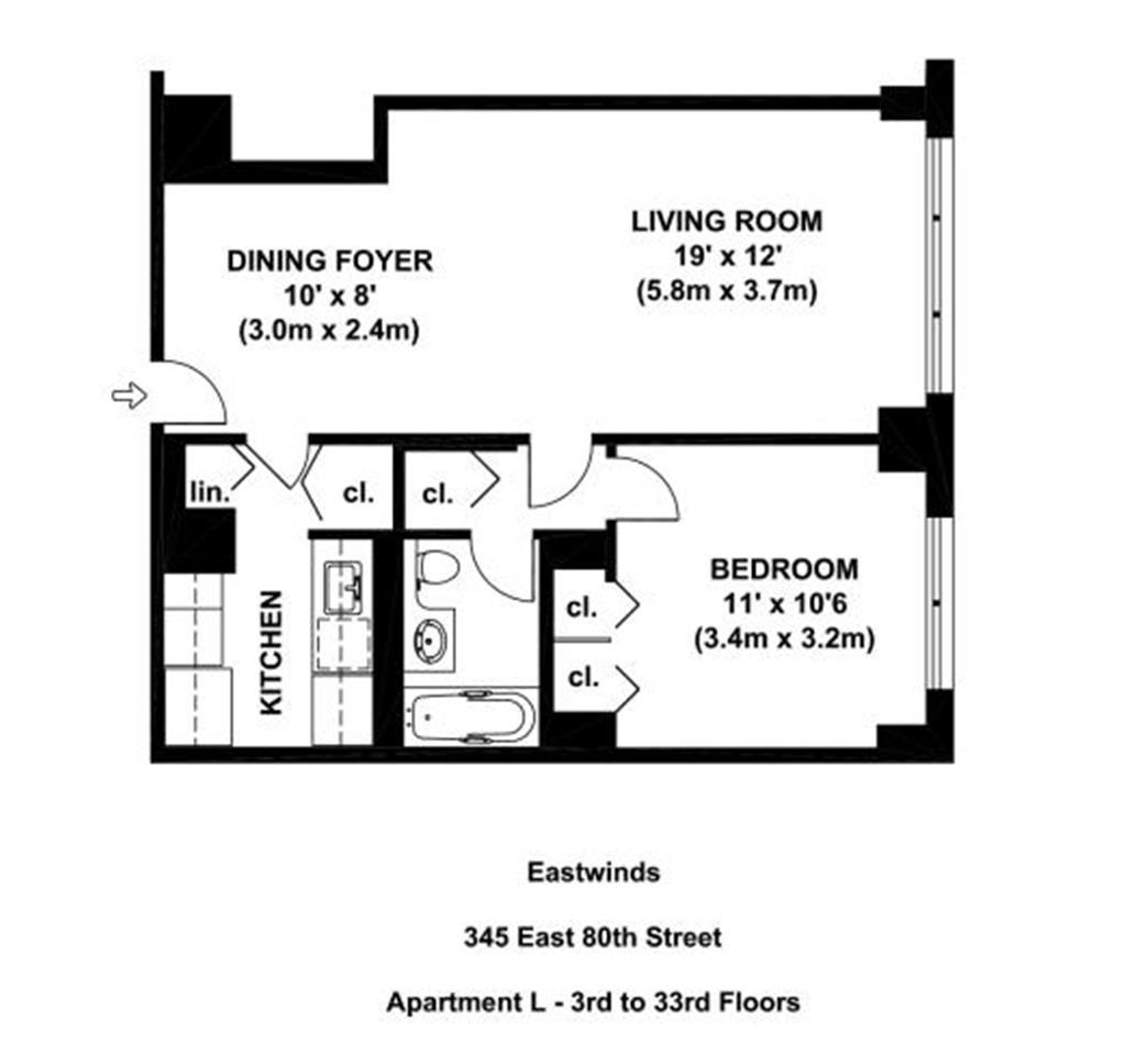 Four Winds Apartments: The Eastwinds At 345 East 80th Street In Upper East Side