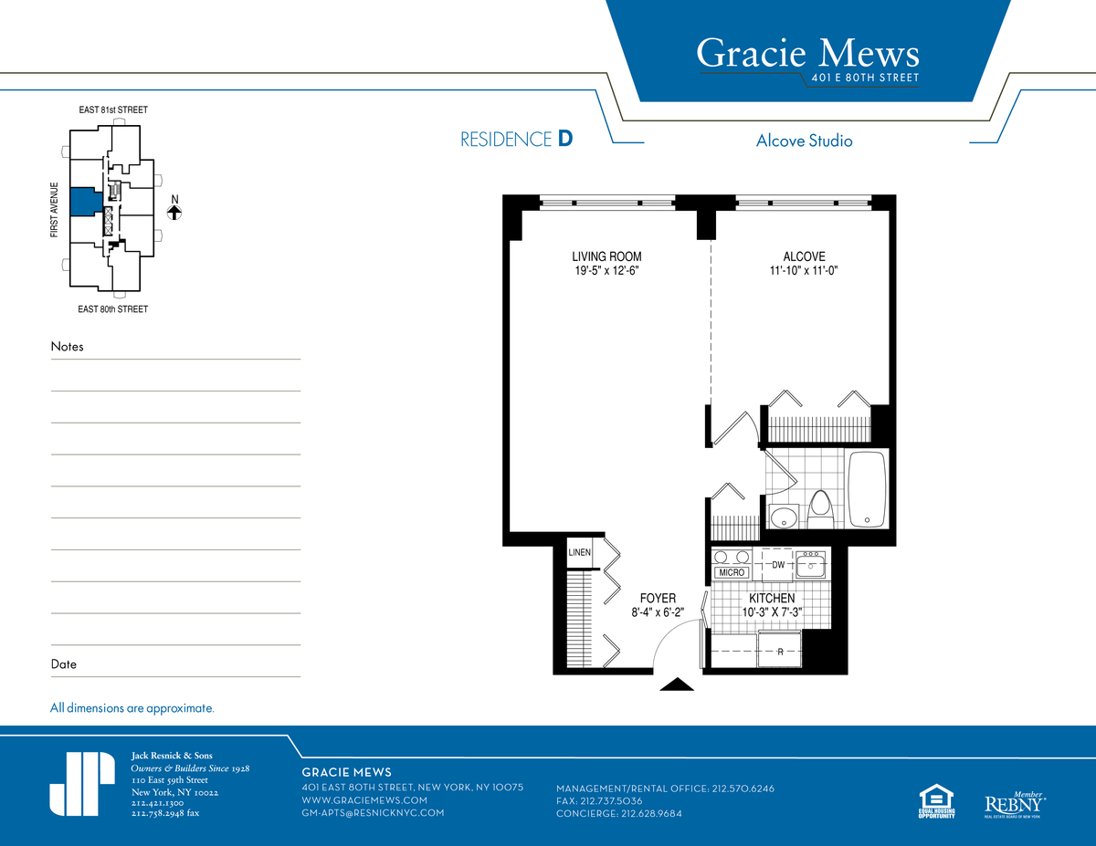 Gracie Mews 401 East 80th St Nyc Manhattan Scout