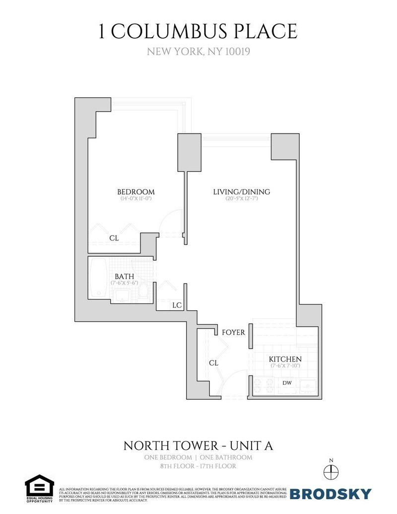 One columbus place 400 west 59th st manhattan scout apartments for rent malvernweather Image collections