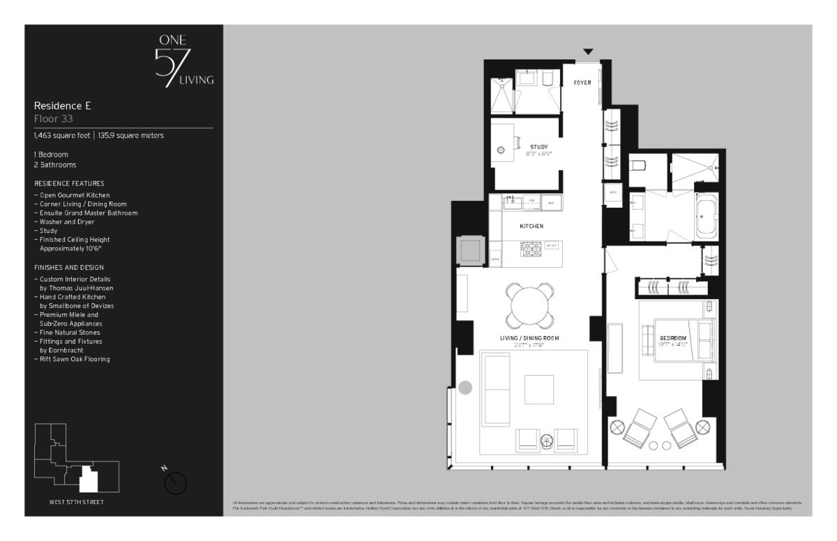 One57 Penthouse Floor Plan | www.imgkid.com - The Image