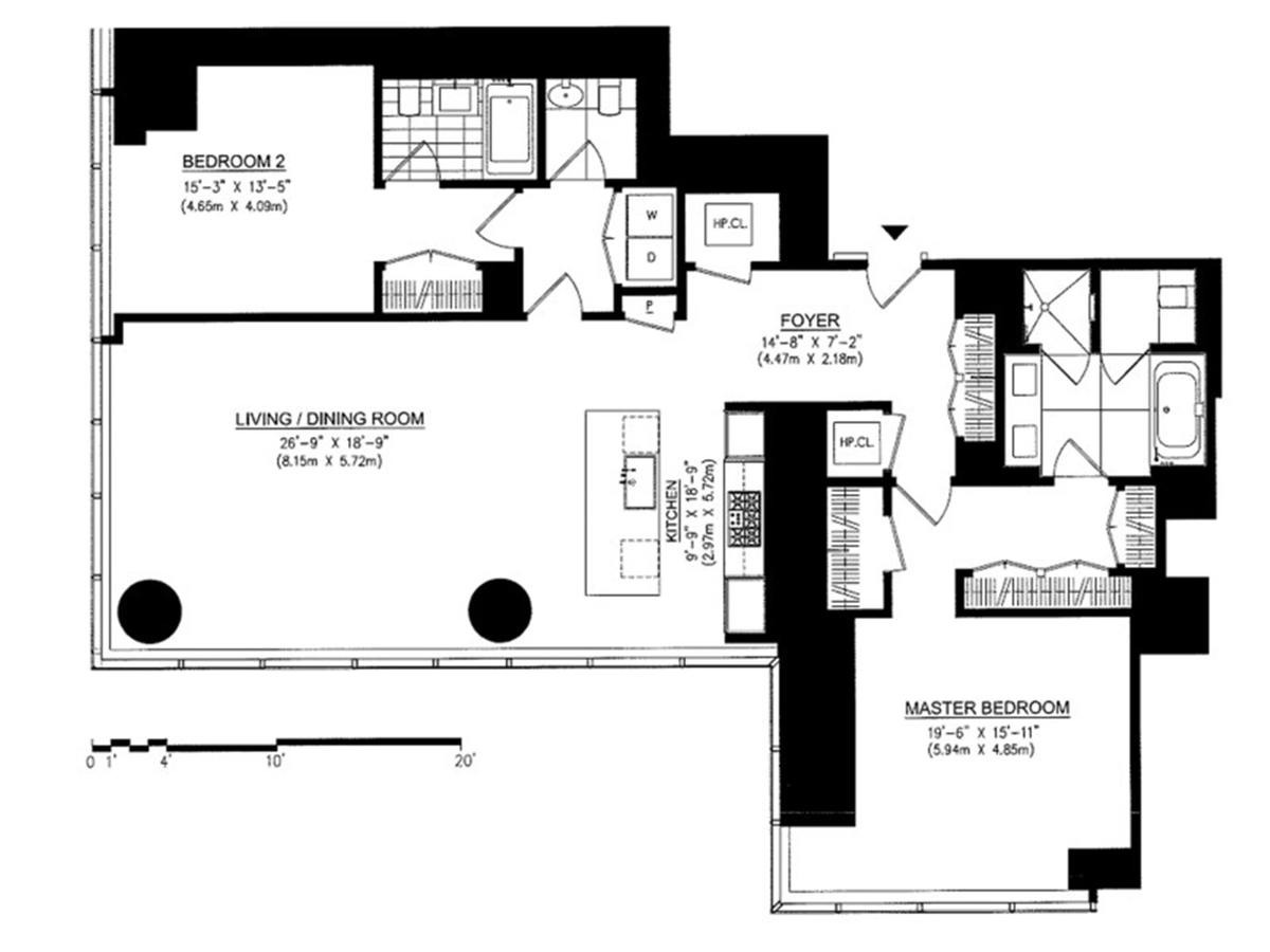 One57 Floor Plans One57 157 West 57th Street Luxury Condos Manhattan Scout