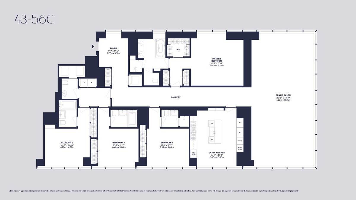 One57 Floor Plans Www Imgkid 28 Images 157 West
