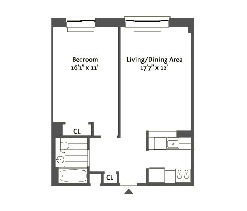 1 Bedroom Apartments Nyc: The Aspen At 1955 1st Avenue In Harlem