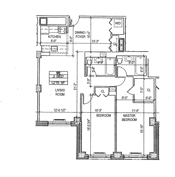 The lenox 380 lenox ave apartments manhattan scout for The lenox floor plan