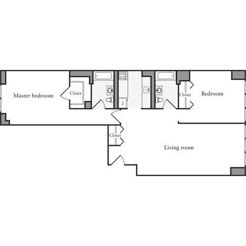 Archstone Apartments: Archstone West - 54th 505 West 54th Street