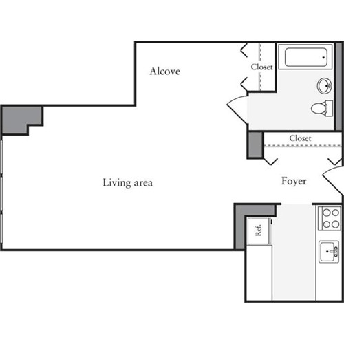 West 54th Apartments: Archstone West 54th At 505 West 54th Street In Midtown