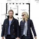 Gwyneth Paltrow selling 416 Washington Street nyc home - floorplan