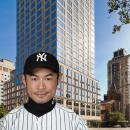 Inchiro Suzuki yankees player new apartment at the laurel