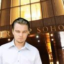 Leonardo DiCaprio Movie Shooting at Trump Soho in NYC