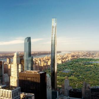 111 West 57th Street with panoramic views