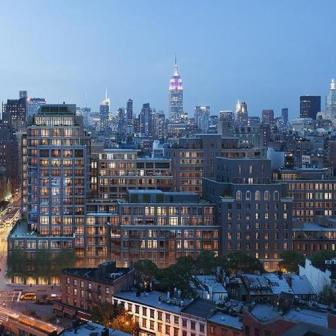 The Greenwich Lane 150 West 12th Street - skyline view