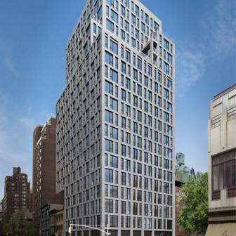 160 East 22nd Street luxury apartments