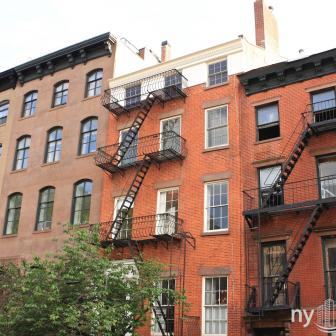 436 West 20th street Old English–inspired Architecture