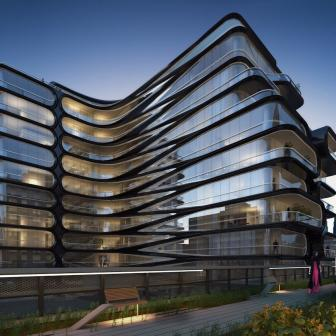 520 West 28th Street Zaha Hadid project