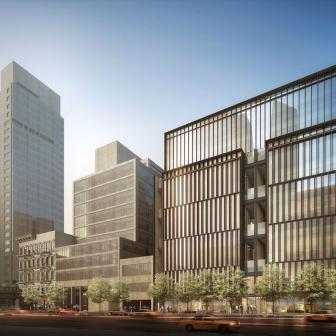522 West 29th Street - futuristic design