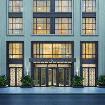 60 East 86th Street entrance