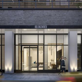 The Holllignsworth at 70 West 37th Street no fee rentals