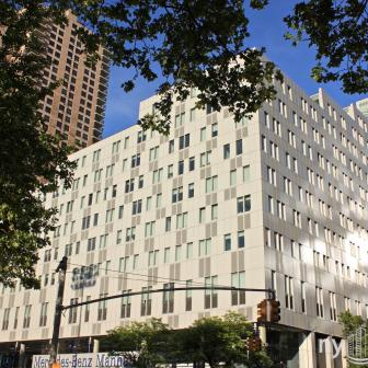 Mercedes House 555 West 53rd Street Units for Rent