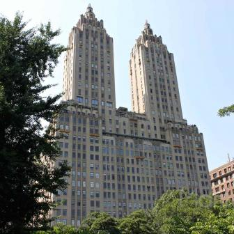 The Eldorado 300 Central Park West Art Deco building