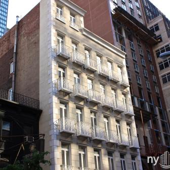 The Pantheon 216 East 52nd Street Italianate Façade