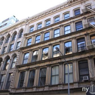 The Tribeca Lofts 78 Leonard Street Cast-Iron Architecture