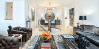 Clive Davis' Ritz Tower Apartment