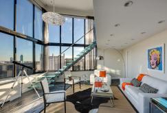 530 East 72nd Street living area