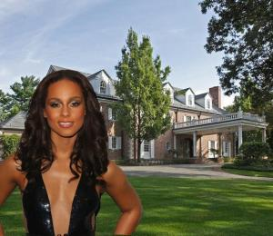 Alicia Keys and Bubble Hill in Englewood New Jersey