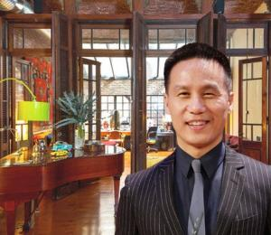 BD Wong and his renovated NYC apartment