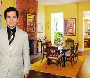 John Leguizamo at 268 East 7th Street