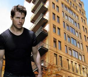 Tom Cruise and American Felt Building at 114 East 13th Street